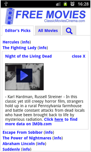 Free Movies Apk – Watch Movies online – China Grabber