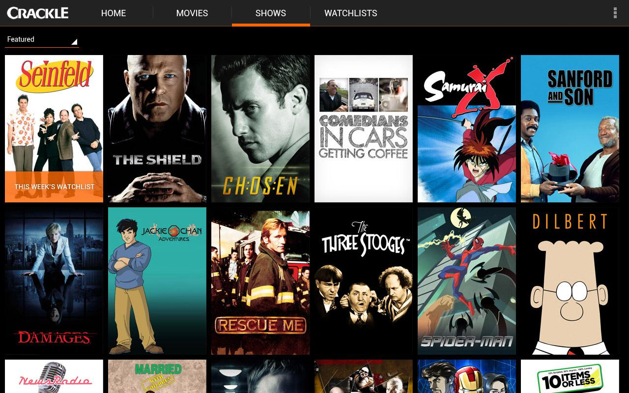 Crackle Apk Download – Free TV and Movies – China Grabber
