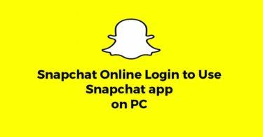 snapchat online login