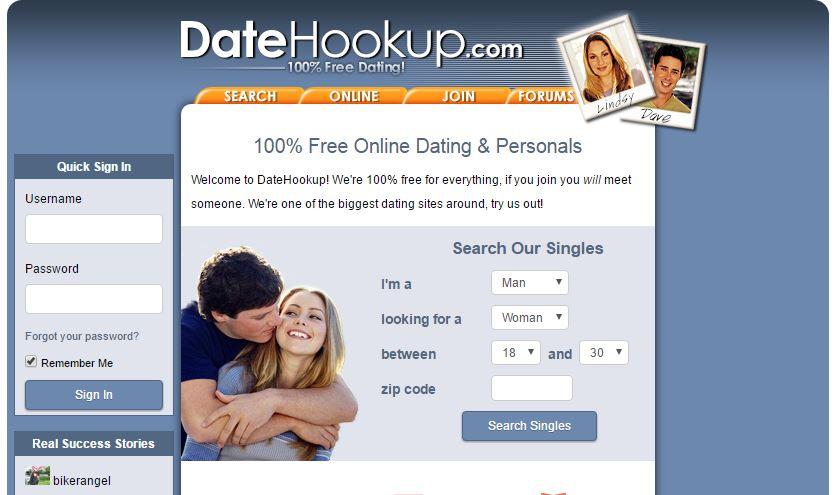 datehookup login