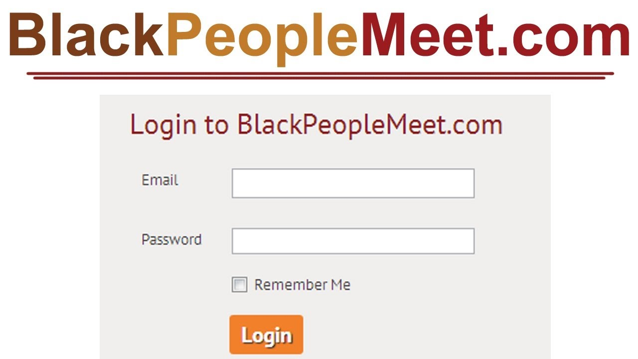 black people login